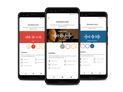 New Voices for the Google Assistant